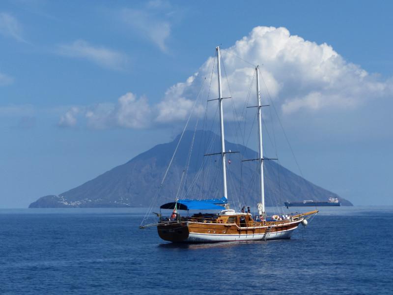 Boot segeln